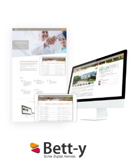 Bett-y - Die Online-Plattform für modernes Überleitungsmanagement